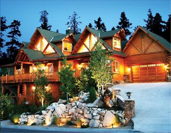 Big Bear Lake house rental - Mt Villa Dusk