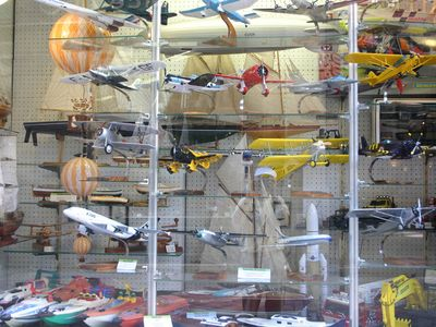 Famous scale models and toy shop in Bordeaux