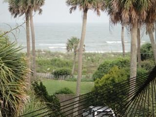 View from the upstairs deck hammock--beckons you! - Folly Beach house vacation rental photo