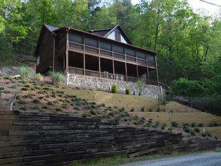 Luxury cabin rental ellijay blueridge with vrbo for Ellijay cabins for rent by owner