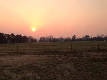Dardanelle house rental - View from the back