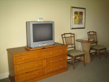 Dresser, TV, Table and Chairs