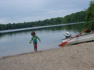 A Great Beach for the Kids; Fishing Boat & Toys - Interlochen house vacation rental photo