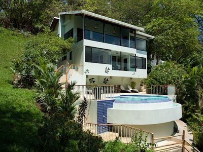 Casa Colibri -- ocean view beachfront vacation home in Costa Rica