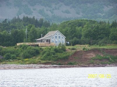 Bras D'or Lake cottage rental - Exterior