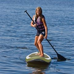 Kingsland house photo - Want to try Stand-up Paddle Boarding or kayaking? Easy launch from our dock.