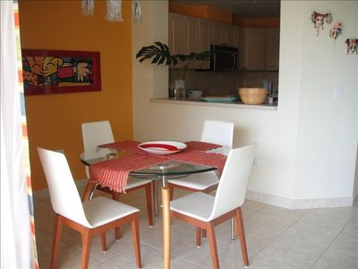 Humacao condo rental - DINING ROOM