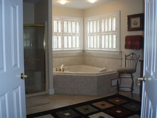 Alford chateau / country house photo - Master-bath with shower and jacuzzi