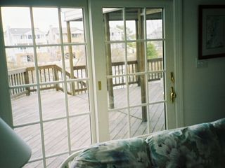 Bethany Beach house photo - From the great room out to the deck and waterfront