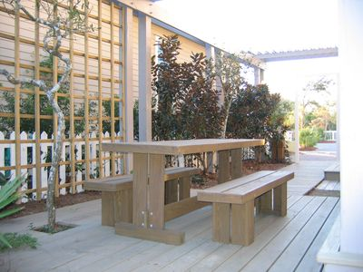 Seagrove Beach house rental - Outdoor Dining
