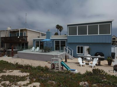 Oceanfront Beach House on Sand With Spectacular Views