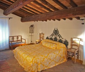 Antognolla farmhouse photo - 2nd floor, Master Double Bedroom, with en suite bathroom