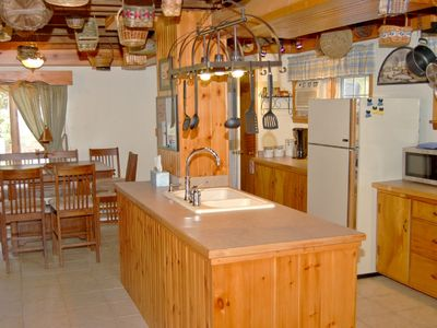 Center Island in our fully equipped kitchen