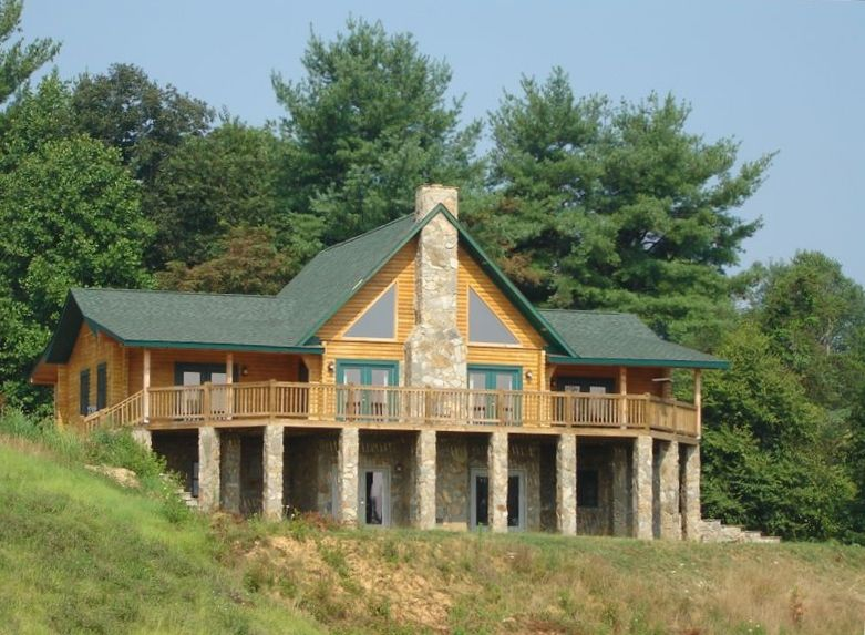 Luxury cabin rental in asheville paradise vrbo for Asheville nc luxury cabin rentals
