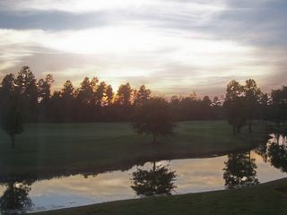 Wilmington condo photo - Magnificent sunsets reflecting off the pond