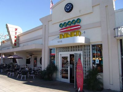 Downtown Coronado Diner on Coronado California