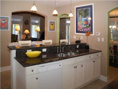 Seagrove Beach house rental - Luxurious Kitchen Bar