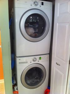 Brand new space age washer and dryer!