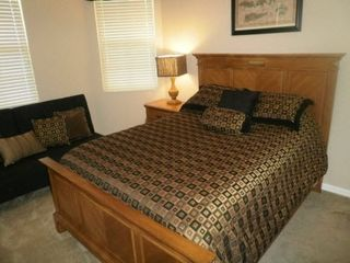 Clearwater Beach condo photo - Bedroom with Futon