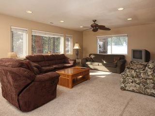 Black Bart house photo - Spacious guest house living area for this South Lake Tahoe vacation home.
