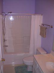 River Oaks condo photo - Master Bath With Large Tub and Shower