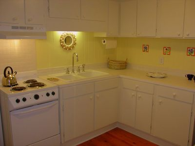 Fully Equipped Guest Apt. Kitchen ~ Seating for 2. (Apt. Has A Private Entrance)