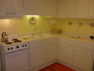 Seagrove Beach house photo - Fully Equipped Guest Apt. Kitchen ~ Seating for 2. (Apt. Has A Private Entrance)