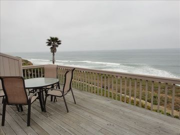 Encinitas townhome rental - 180 degree unobstructed ocean views