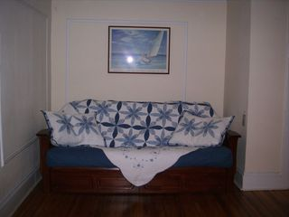 Staten Island house photo - #1 Red, White & Blue Big Bedroom Futon
