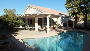 Sun Lakes house rental - Pool Late Afternoon