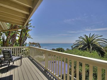 Summerland house rental - Beach Views - The proximity to the beach at our beautiful home is visible from our decks and balconies.