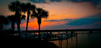 Just one of the many beautiful sunsets in Destin!