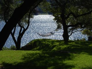 Austin house photo - Hammock over Lake Austin