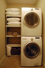Branson house photo - Laundry room with extra pillows and blankets for the sofa sleepers.