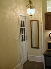 Brooklyn apartment photo - Apt door & bathroom to right