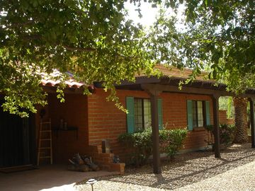 Tubac house rental - Front Entry