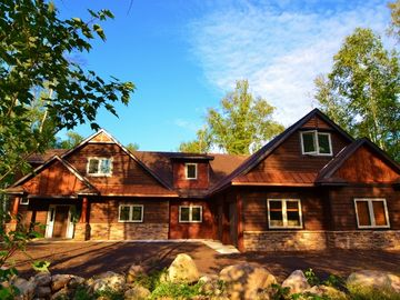 Giants Ridge house rental - Fairway Ridge - Custom designed lake front luxury for your cherished vacation