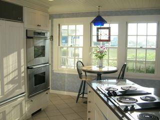 West Yarmouth house photo - Kitchen with Six Burner Range and Double Ovens