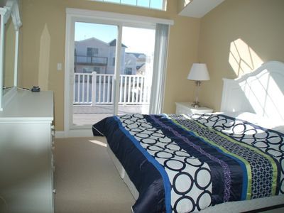 Sea Isle City townhome rental - Master Bedroom