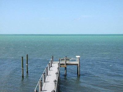 Dock and Beautiful Open Gulf Views