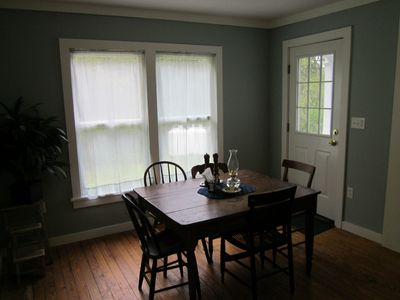 Arkville house rental - Dining area.