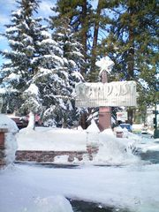 Heavenly Valley studio photo - Resort Sign in Winter at the Stardust Tahoe