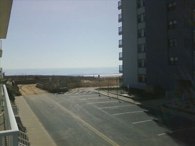 View from Balcony - 35 Yards to beach entrance