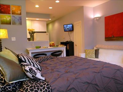 Studio Apartment Queen Bed contemporary studio apartment queen bed loft but desk under the i