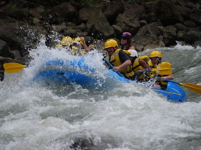 Atenas villa rental - try white water rafting - fabulous!