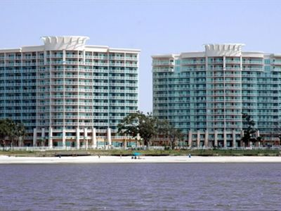 Beautiful Legacy Towers from the Gulf!!!