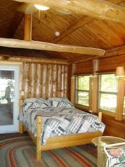 Fifty Lakes cabin photo - Sunroom. The favorite sleeping area.