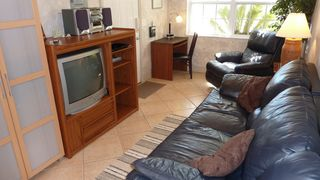 El Centro Beach cottage photo - Comfortable Living Area, w-TV DVD Player & Stereo