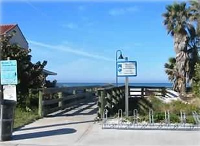 Beach entrance just 34 steps from your front door!