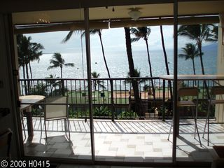 Lahaina condo photo - Sunlight Pours Onto Lanai Around Mid-Afternoon.